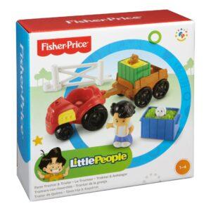 Fisher-Price traktor og trailer
