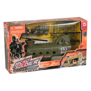 Micro Soldier helikopter