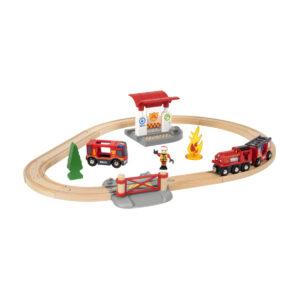 Brio Togsæt med brandmandstema