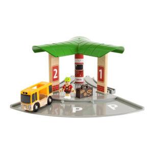 Bus- og togstation