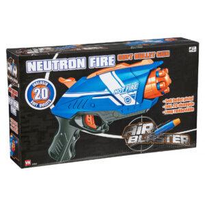 Soft gun legetøjspistol m/ 20 pile