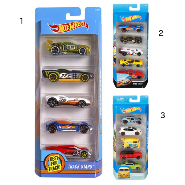 Hot Wheels 5-pak biler