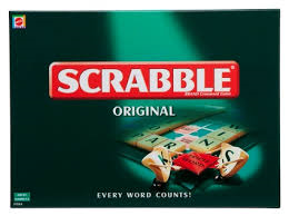 Scrabble spil orginal