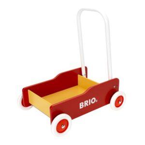 Brio gåvogn guil og rød