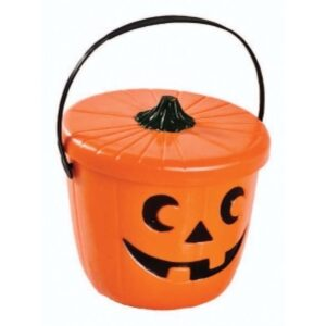 Halloween græskar med låg
