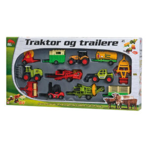 miniBULL traktor trailere