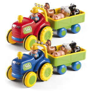 Baby Buddy elektrisk traktor