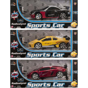 Radiostyret Sports Car