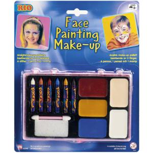 Rio face painting makeup
