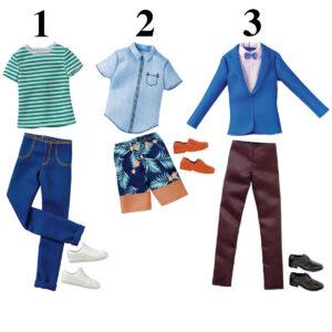 Barbie Ken tøj
