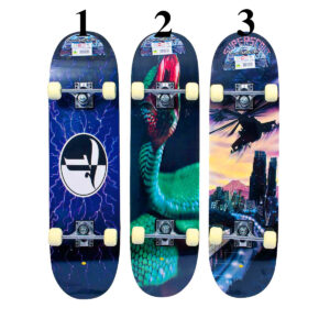 Concave half maple skateboard