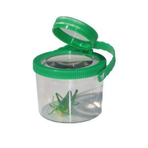 Insektglas med dobbelt lup