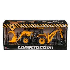 Traktor frontgrab og rendegraver