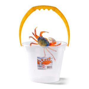 Gennemsigtig krabbespand