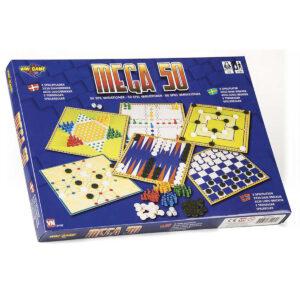 Spillemagasin med 50 spilvarianter