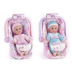 Autostol med dukke