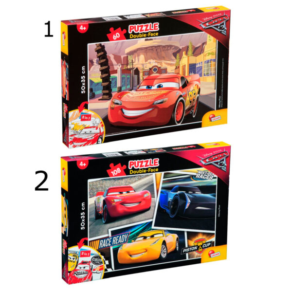 Cars 3 puslespil