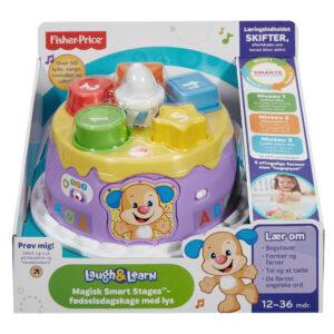 Fisher-Price leg og lær fødselsdagskage