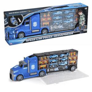 Mega politiautotransporter