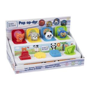 pop op-aktivitetscenter med dyr