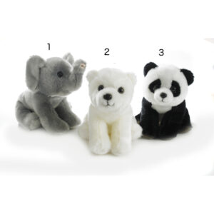Elefant, Panda, Isbjørn