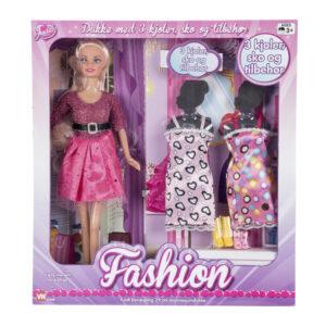 Judith fashion med 3 kjoler