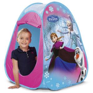 Frozen pop-up telt
