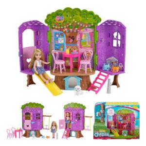 Barbie Chelsea træhule