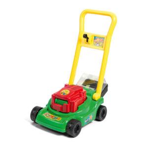 græsslåmaskine med græs