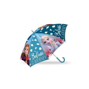 White classic elegant open umbrella.